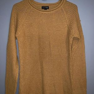 FOREVER21 ambiance apparel yellow sweater